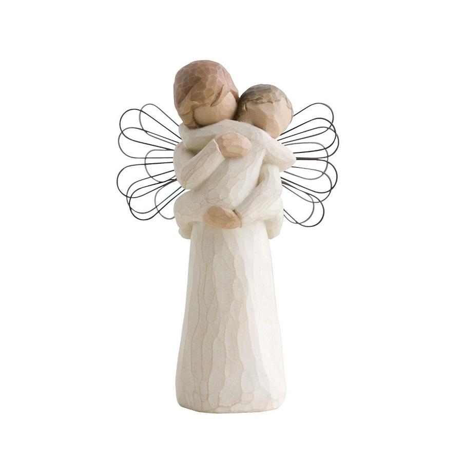 willow tree engel der umarmung neu geburt taufe baby engelfigur susan lordi ebay. Black Bedroom Furniture Sets. Home Design Ideas
