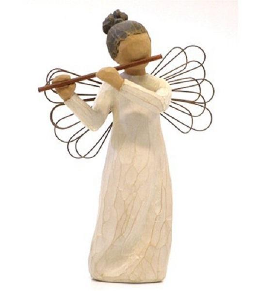willow tree angel of harmony neu engel der harmonie engelfigur susan lordi ebay. Black Bedroom Furniture Sets. Home Design Ideas