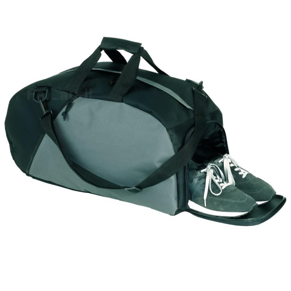 sporttasche 39 relax 39 sport reise fitness tasche schwarz. Black Bedroom Furniture Sets. Home Design Ideas