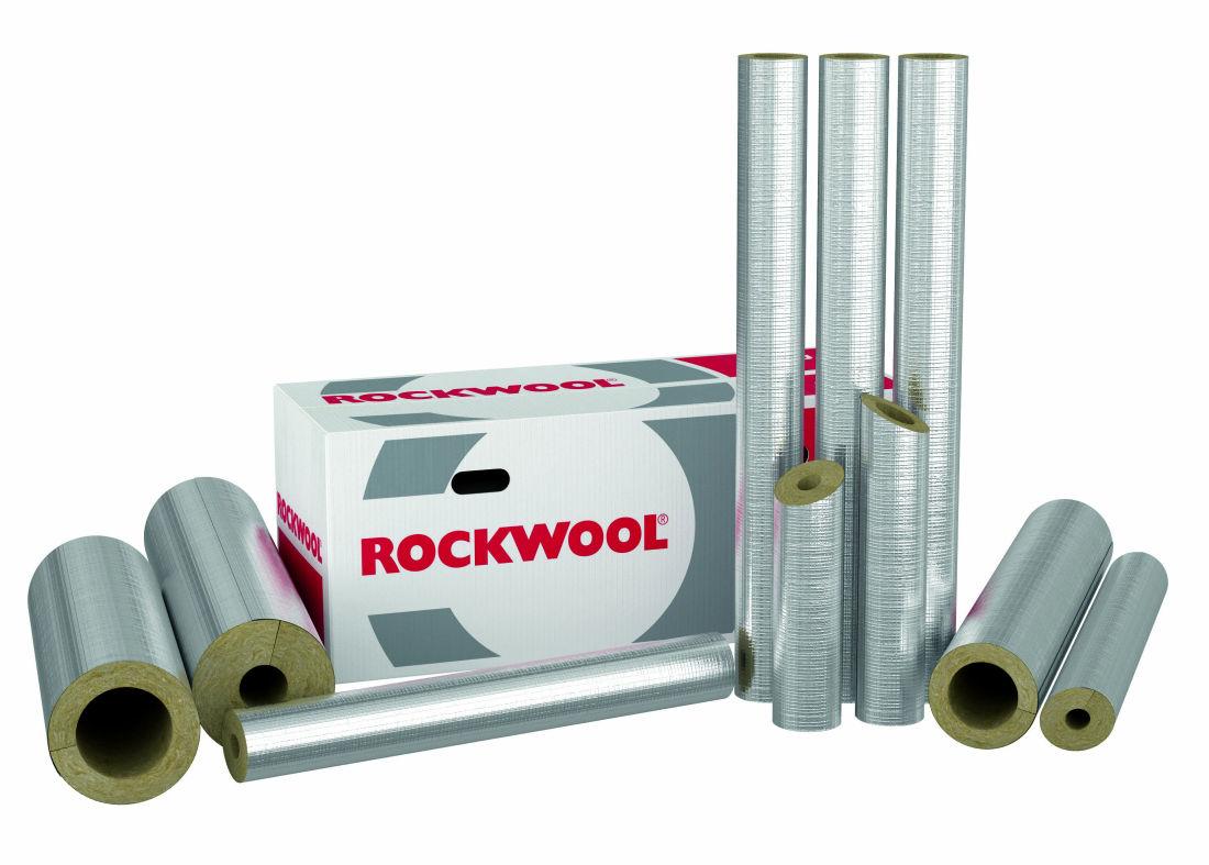 karton rockwool 800 rohrschale rs800 alu rohrisolierung. Black Bedroom Furniture Sets. Home Design Ideas