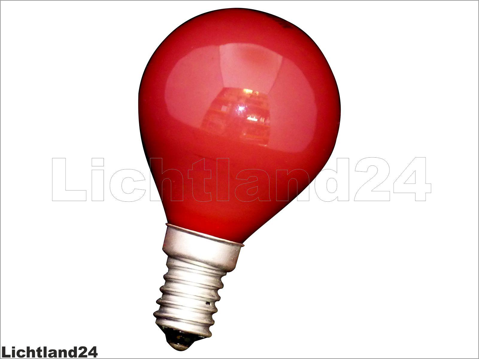 e14 farbige qual tropfen lampe 25 watt rot bunte gl hbirnen 25w ebay. Black Bedroom Furniture Sets. Home Design Ideas