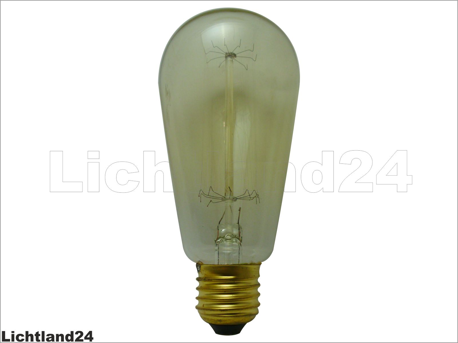 e27 retro edison deco gl hlampe 60 watt gl hbirne 60w rustika vintage ebay. Black Bedroom Furniture Sets. Home Design Ideas
