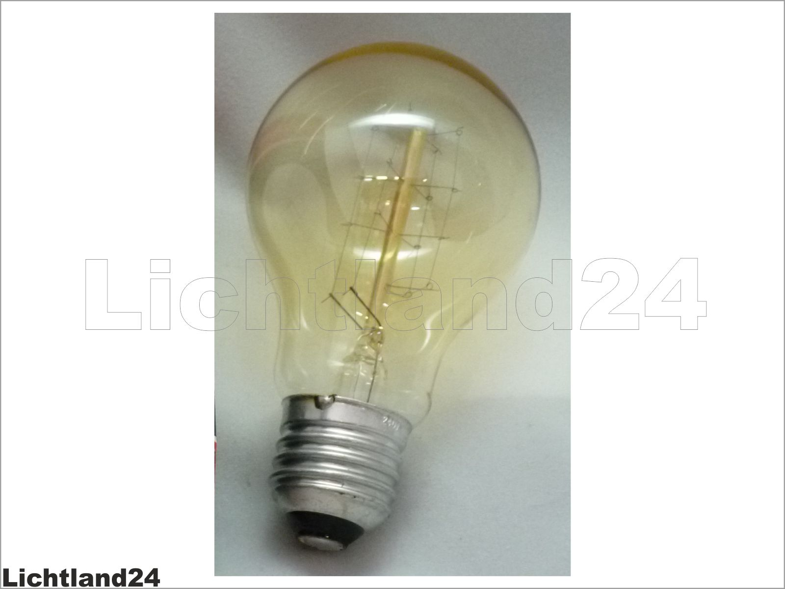 e27 edison retro nostalgie industrie gl hlampe 60 watt gl hbirne 60w vintage ebay. Black Bedroom Furniture Sets. Home Design Ideas