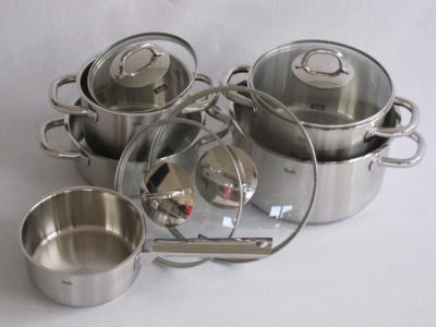fissler korfu topf set 5 tlg incl deckel ebay. Black Bedroom Furniture Sets. Home Design Ideas
