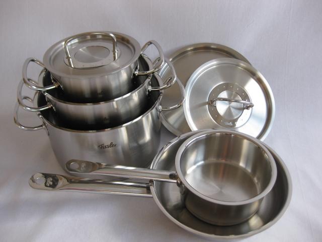 fissler professional collection 5 pieces set 8412305004 saucepans set. Black Bedroom Furniture Sets. Home Design Ideas