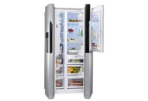 Amerikanischer Kühlschrank Von Lg : Lg gs necz side by side kühlschrank a ebay