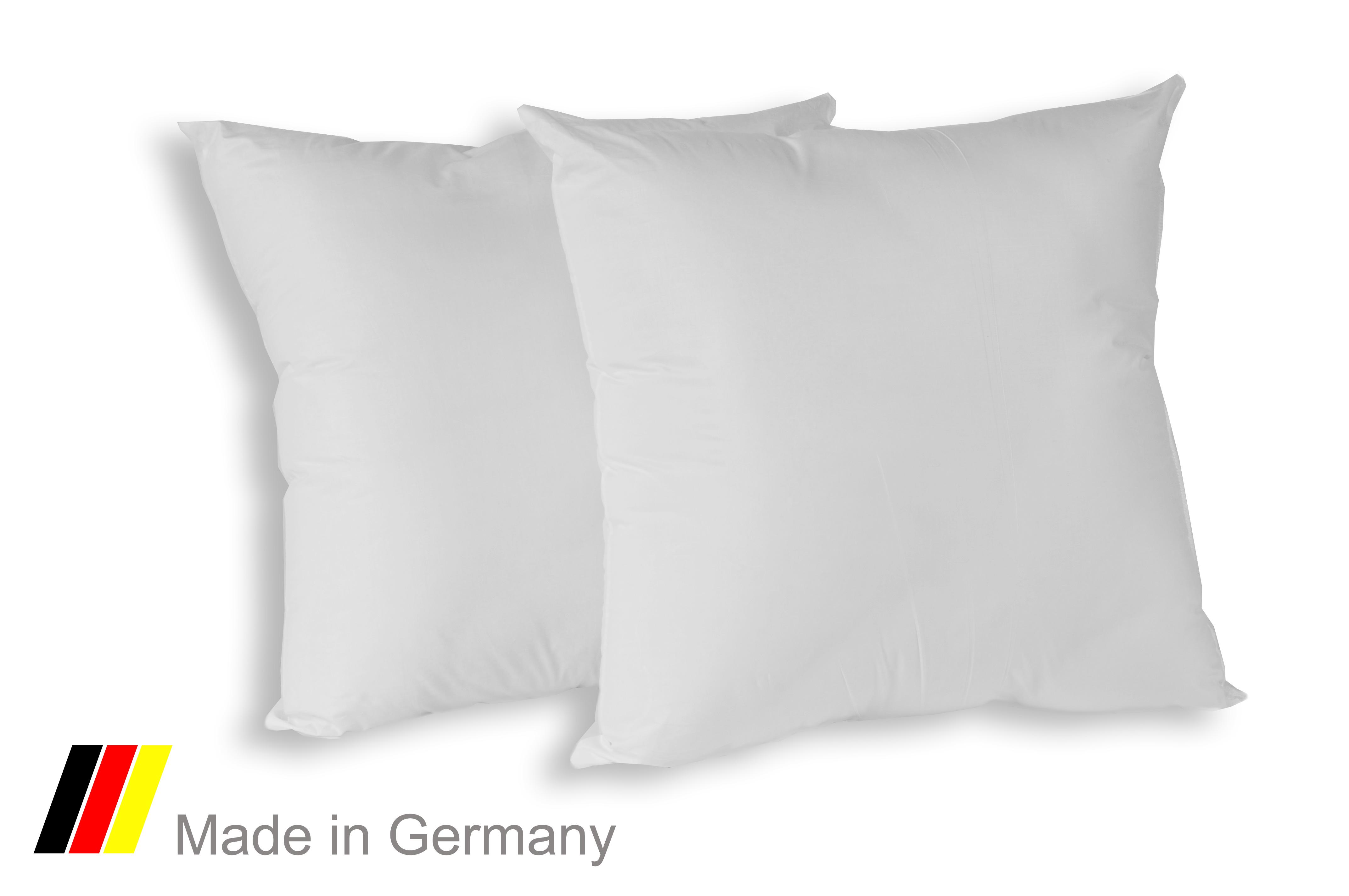 merino betten f llkissen dekokissen inlett kissen 80x80 cm standard doppelpack. Black Bedroom Furniture Sets. Home Design Ideas