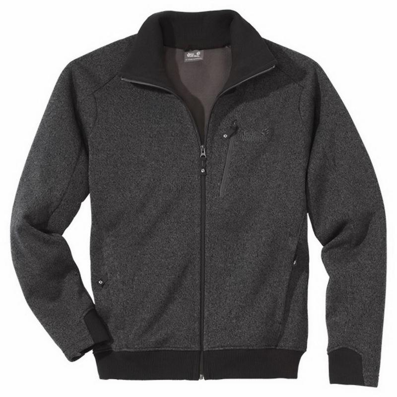 jack wolfskin glenwood jacket men dark steel ebay. Black Bedroom Furniture Sets. Home Design Ideas