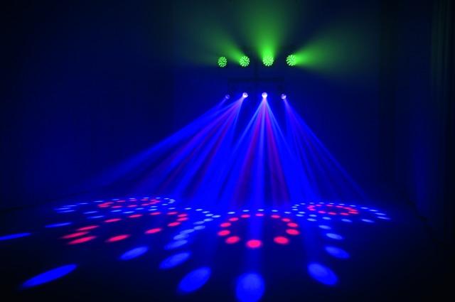 eurolite kls kombo pack 2 led set lichtset lichtanlage dj disco licht effekt neu ebay. Black Bedroom Furniture Sets. Home Design Ideas