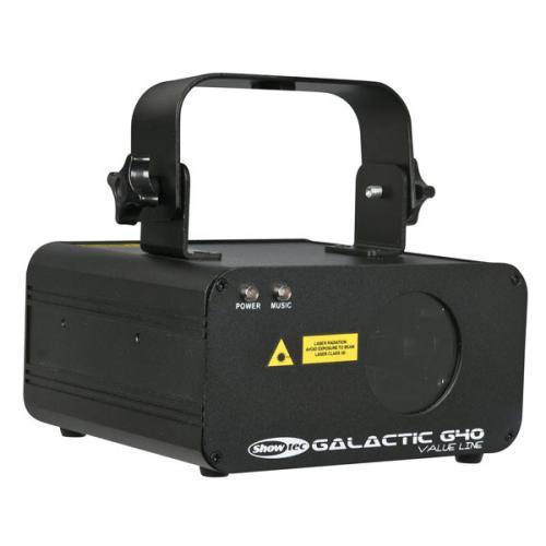 Showtec-Galactic-G40-Value-Line-Gruen-40-mW-DMX-Lasereffekt-Disco-DJ-Laser-Light