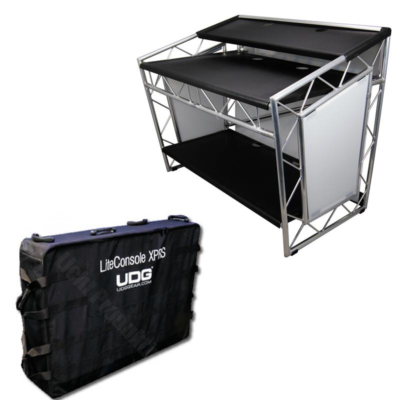 prolyte liteconsole xprs dj pult truss platform klappbar. Black Bedroom Furniture Sets. Home Design Ideas