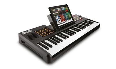 akai synthstation49 49 tasten keyboard midi dj. Black Bedroom Furniture Sets. Home Design Ideas