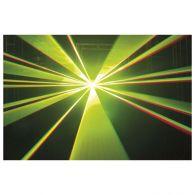 Showtec Galactic RGY140 Rot Grün Gelb DMX Lasereffekt Disco Laser Fernbedienung