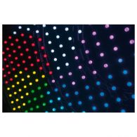Showtec Pixel Bubble 80 1x3 m RGB LED DMX Licht Vorhang Effekt Light Effect NEU