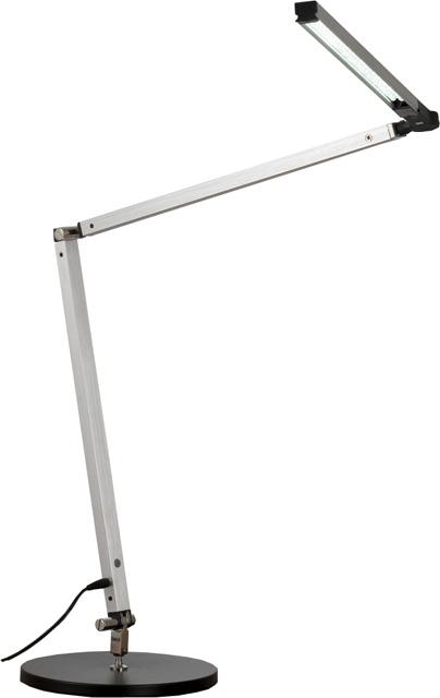 1x6w aluminium led schreibtischlampe schreibtischleuchte. Black Bedroom Furniture Sets. Home Design Ideas