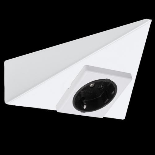 paulmann micro line m belsteckdose dreieckig k che. Black Bedroom Furniture Sets. Home Design Ideas