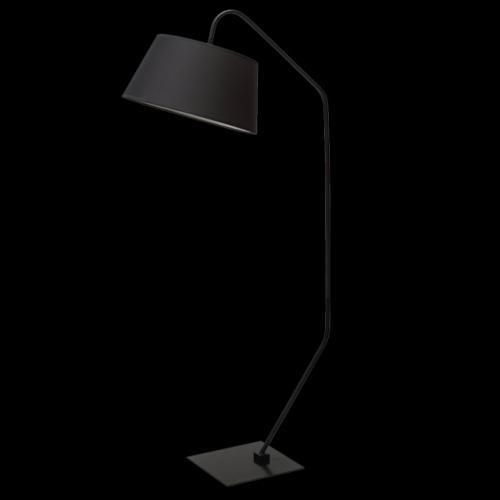 Ranex Design Stehlampe GWEN SCHWARZ Bogenlampe