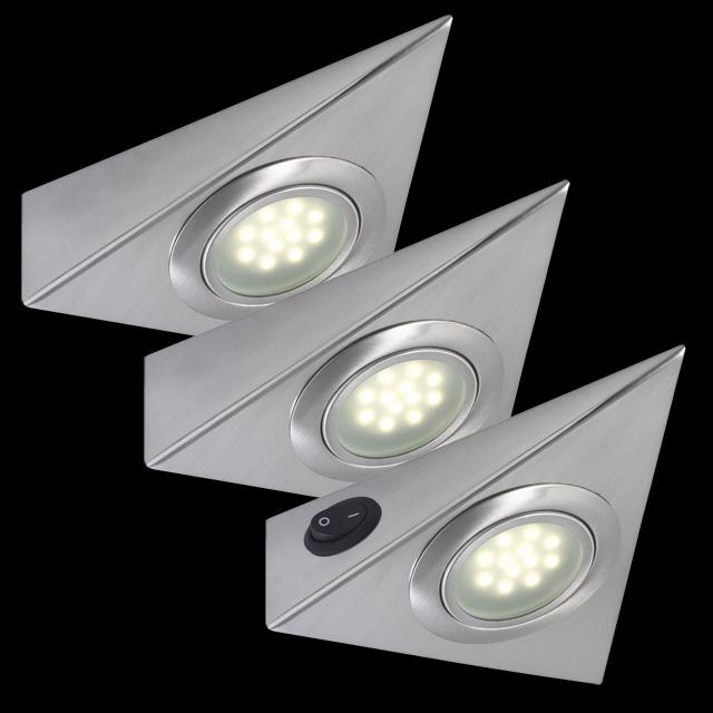 Paulmann LED Möbelleuchten Unterbauleuchten Dreieckig