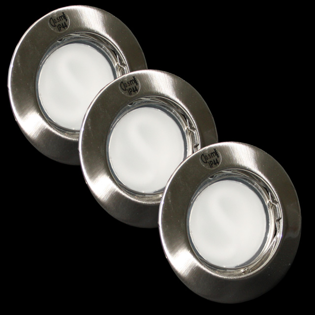 paulmann einbauleuchten einbaulampen aluminium dusche badezimmer lampe ebay. Black Bedroom Furniture Sets. Home Design Ideas