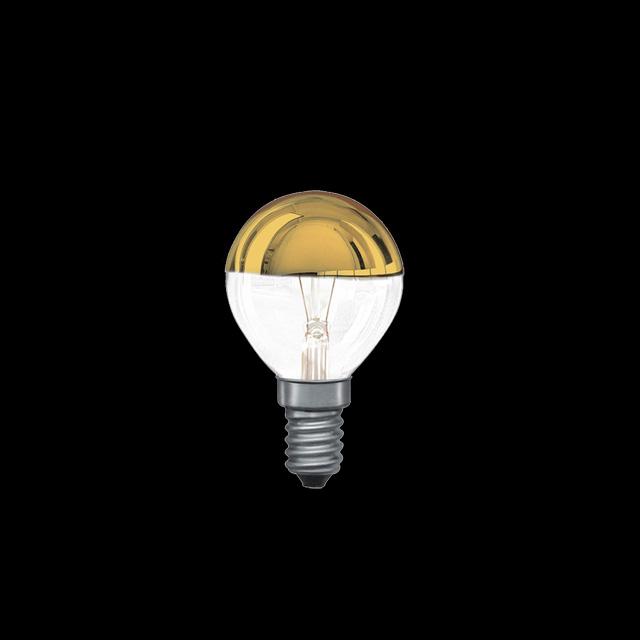 paulmann 30240 gl hbirne e14 40w kopfspiegel gl hlampe gold reflektor ebay. Black Bedroom Furniture Sets. Home Design Ideas