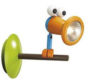 Kico massive birdey spot kinderzimmer lampe wandlampe for Kinderzimmer wandlampe