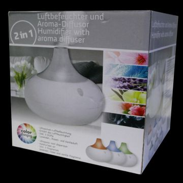 luftbefeuchter mit duft aroma diffuser led deko farbwechsel aromatherapie lampe ebay. Black Bedroom Furniture Sets. Home Design Ideas