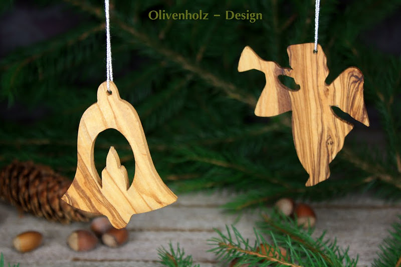 christbaumschmuck aus olivenholz weihnachtsschmuck 6. Black Bedroom Furniture Sets. Home Design Ideas