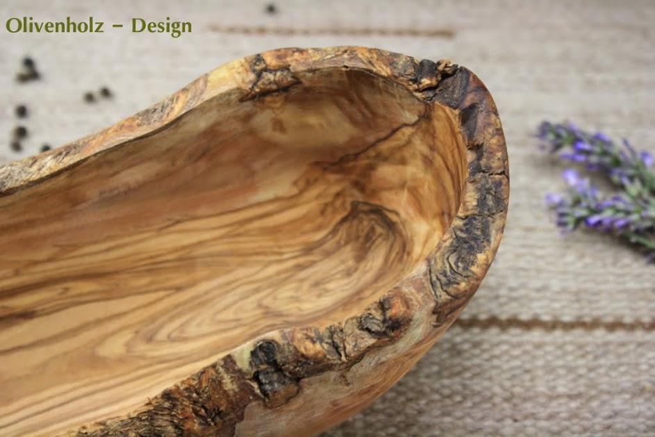 baguetteschale brotschale olivenschale aus olivenholz schale holz 40 cm ebay. Black Bedroom Furniture Sets. Home Design Ideas