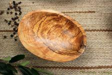 Schalen Set 4 teilig aus Olivenholz Schüssel Schale oval