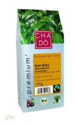 100g schwarzer Bio Premium Tee (6.59 EUR/100g) -Bio Earl Grey- lose (Cha Dô)