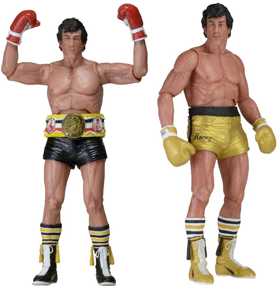 Rocky 2er Set Serie 1 40th Anniversary Sortiment Neca