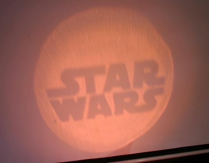 star wars taschenlampe set mit 5 aufs tzen gr n neu ebay. Black Bedroom Furniture Sets. Home Design Ideas