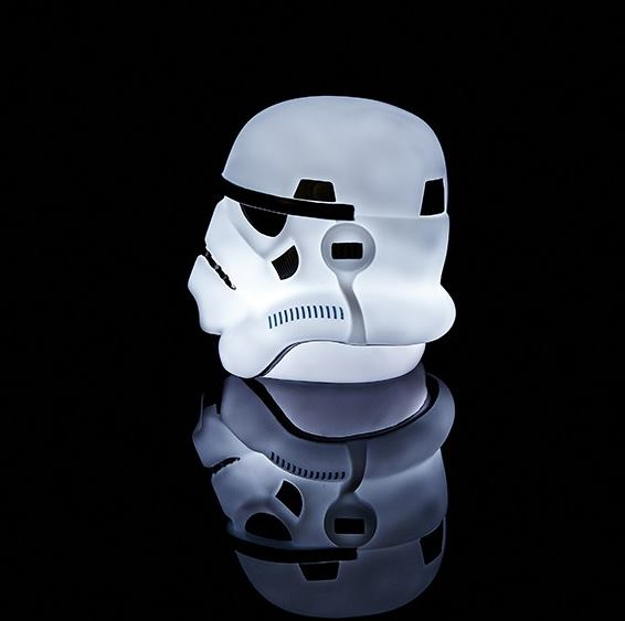 star wars mood light stormtrooper helm helmet lampe leuchte nachtlicht 16cm ebay. Black Bedroom Furniture Sets. Home Design Ideas