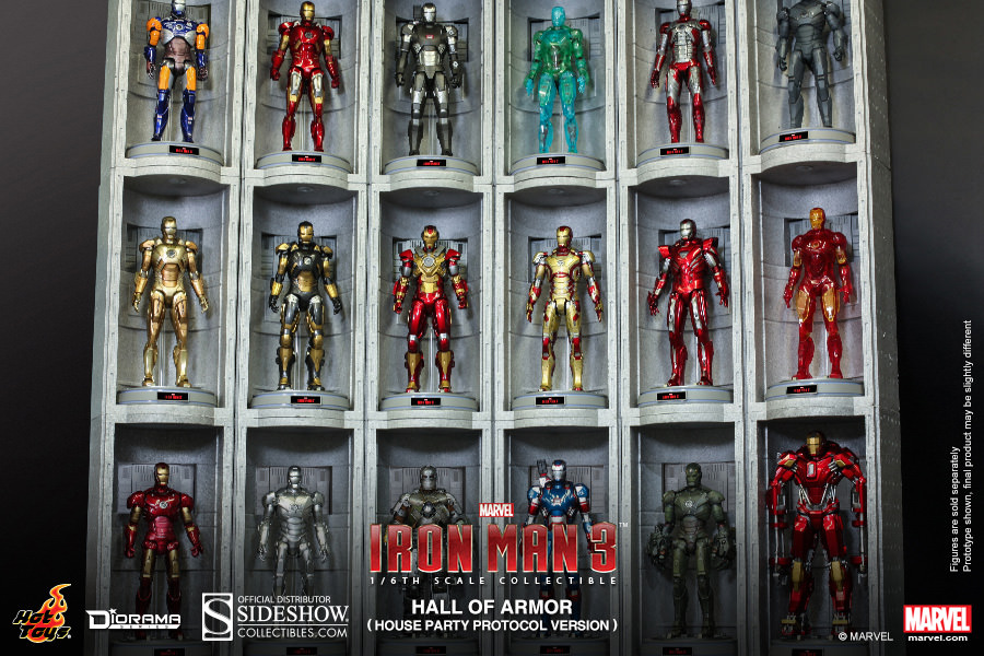 Iron Man 3 Diorama 1 6 Hall Of Armor House Party Protocol