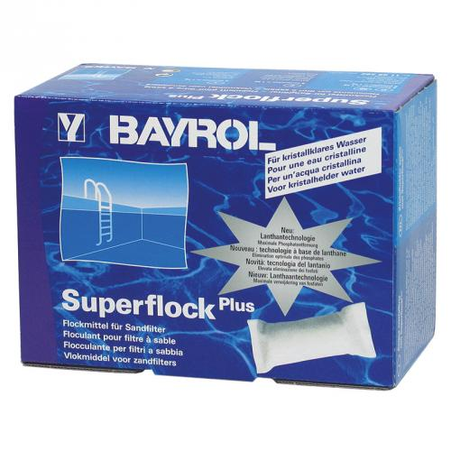 superflock plus 1 0 kg 8x flockkartuschen sandfilter flockkissen bayrol pool ebay. Black Bedroom Furniture Sets. Home Design Ideas