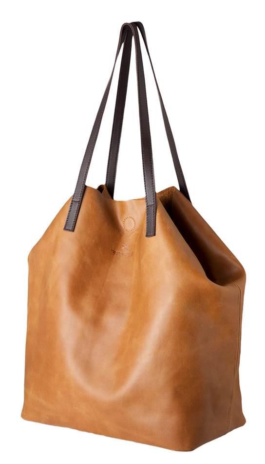 barts tasche taylor shopper leder braun camel ebay. Black Bedroom Furniture Sets. Home Design Ideas