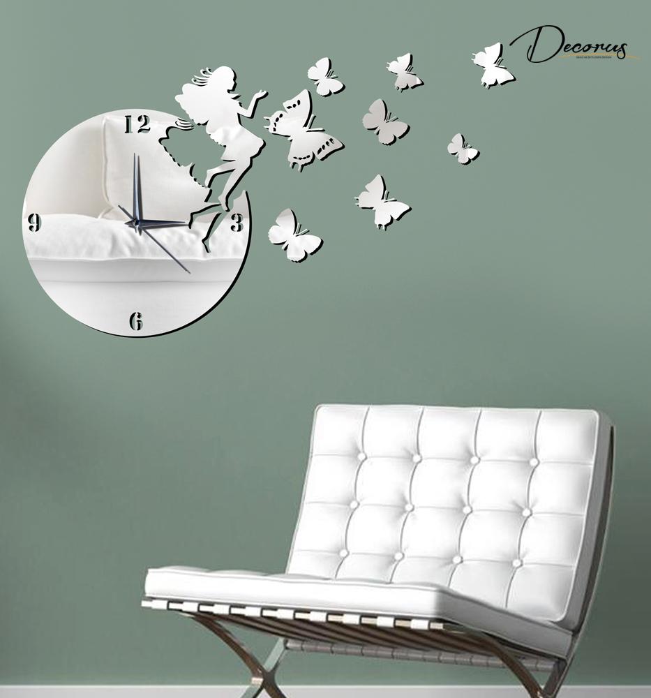 Orologio parete design moderno quarzo anche adesivi parete for Adesivi parete