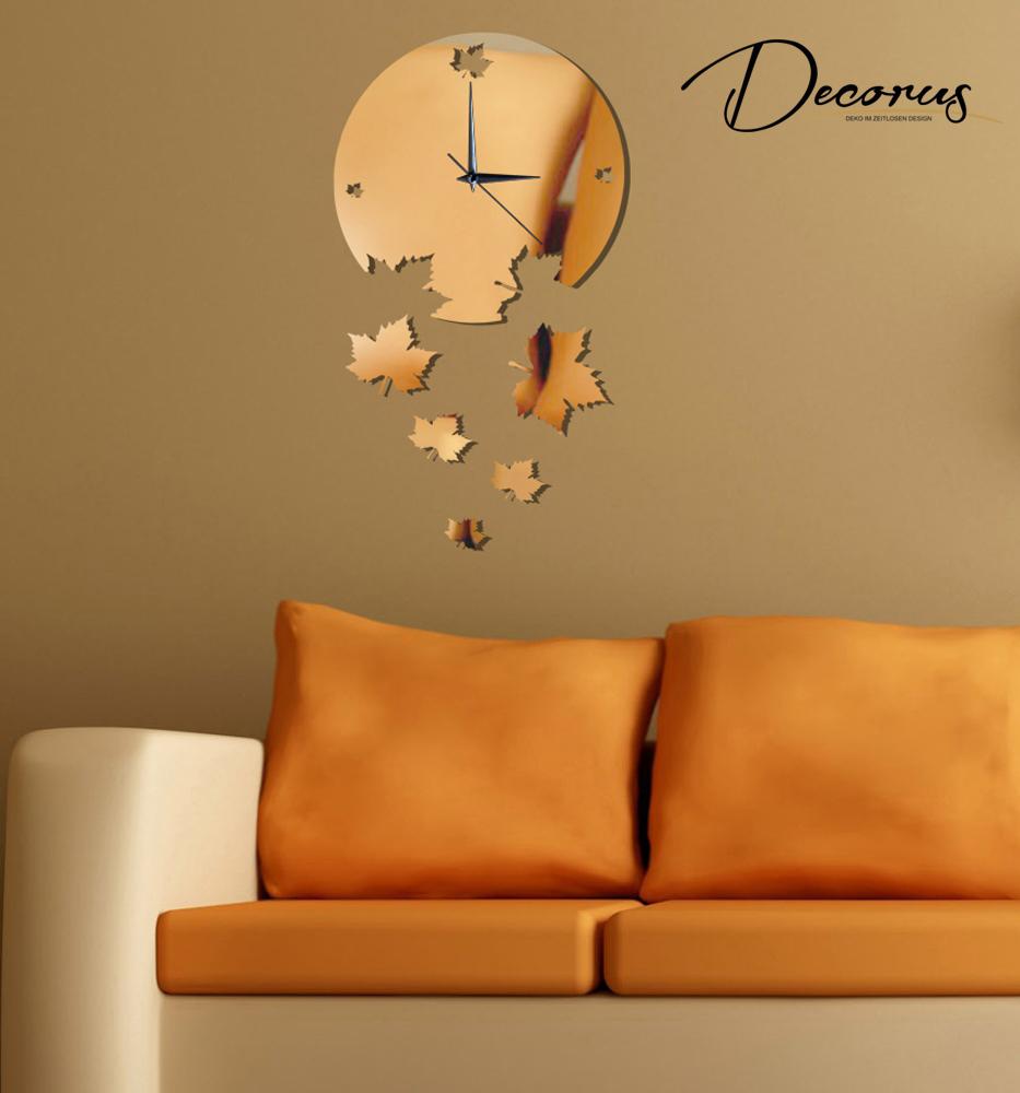 Orologio da parete design di quarzo moderno decorazione for Orologi da parete adesivi