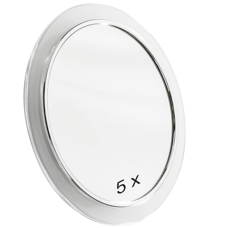 kosmetikspiegel 5 fach mit saugn pfen 23 cm ebay. Black Bedroom Furniture Sets. Home Design Ideas