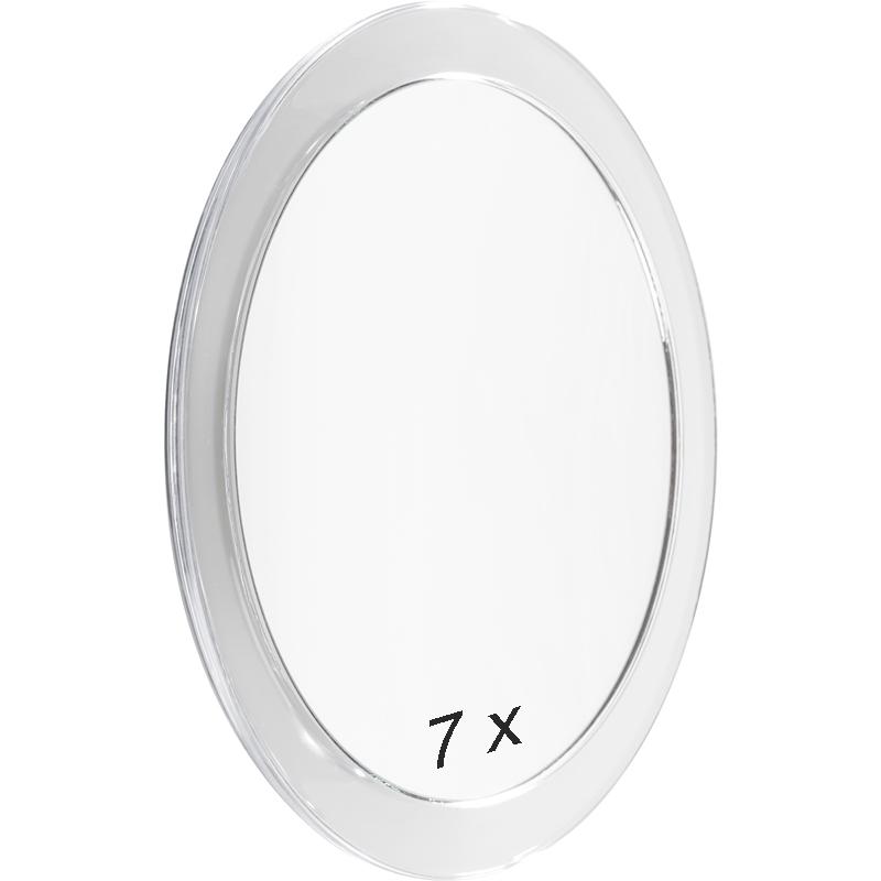 kosmetikspiegel 7 fach mit saugn pfen 19 cm ebay. Black Bedroom Furniture Sets. Home Design Ideas