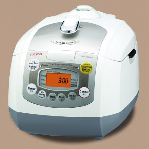 Reiskocher dampfdruck