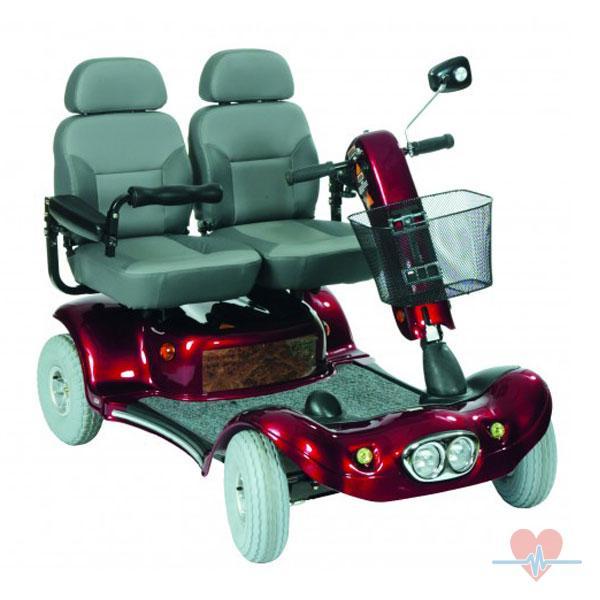doppelsitzer uranus elektromobil neu mobilit t elektro scooter seniorenmobil ebay. Black Bedroom Furniture Sets. Home Design Ideas