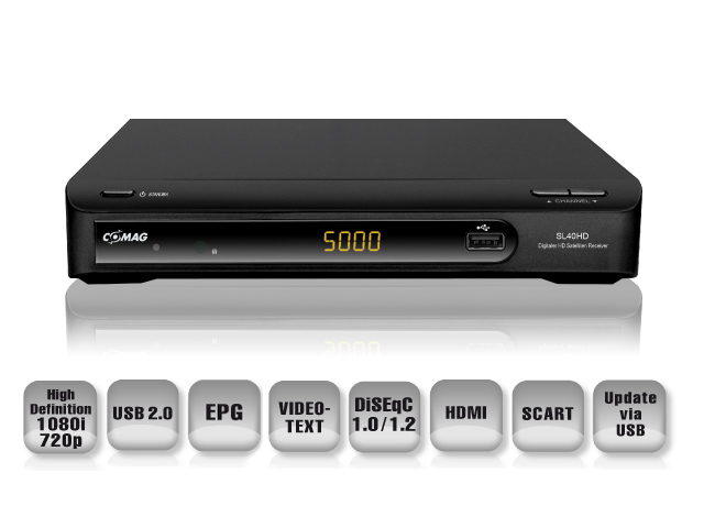 comag sl 40 hd sat receiver hdtv usb pvr ready inkl gratis hdmi kabel 4043052110453 ebay. Black Bedroom Furniture Sets. Home Design Ideas