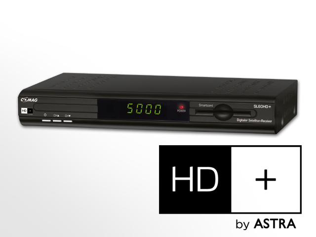 comag sl 60 hd basic full hd sat receiver inkl hd plus karte ebay. Black Bedroom Furniture Sets. Home Design Ideas