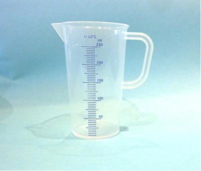 250ml-Messbecher-Messkanne-Massbecher-Kunststoff-sterilisierbar-mit-Griff