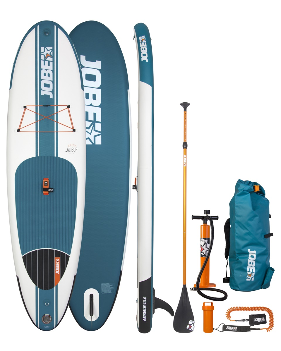 jobe sup aero 10 6 inflatable package 2016 isup stand up paddling board ebay. Black Bedroom Furniture Sets. Home Design Ideas