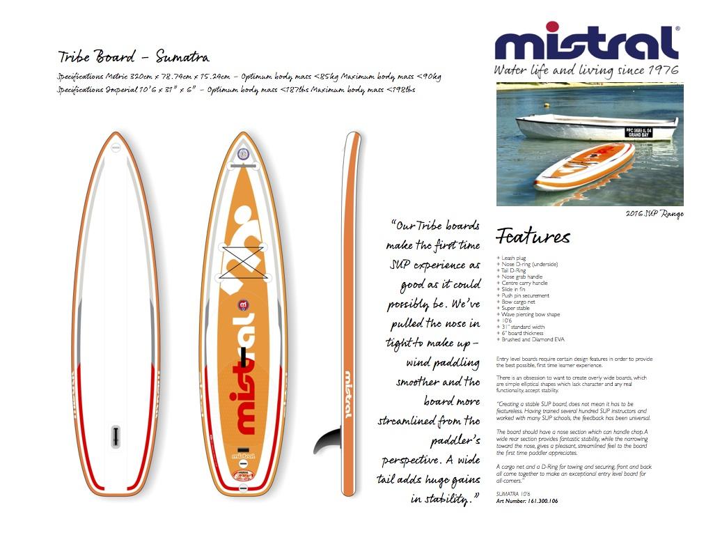 mistral sup board sumatra 10 6 inflatable isup stand up paddling paddelboard. Black Bedroom Furniture Sets. Home Design Ideas