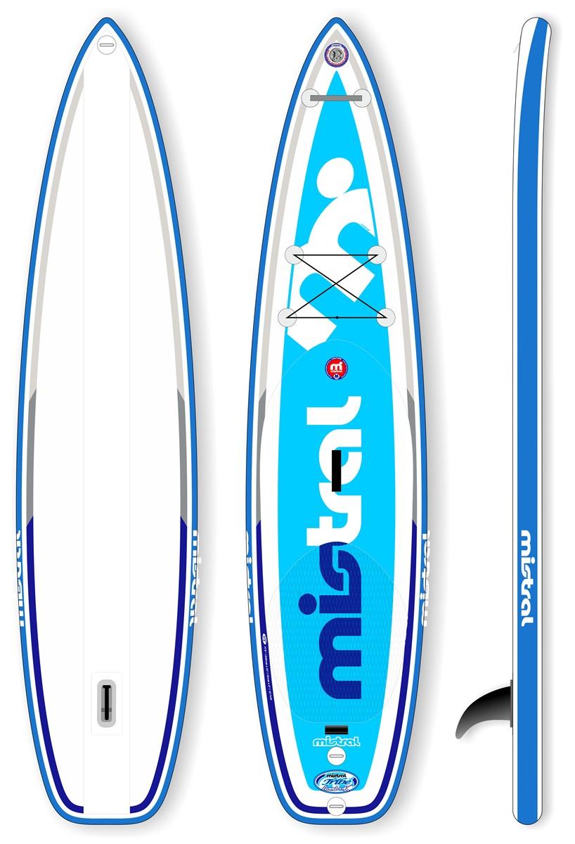mistral sup board lombok 11 5 inflatable isup stand up paddling paddelboard ebay. Black Bedroom Furniture Sets. Home Design Ideas
