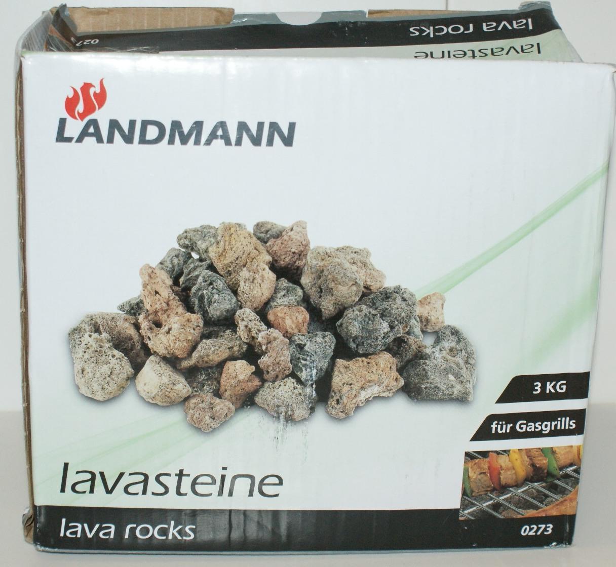 landmann lavasteine 3kg f r gasgrill 0273 4 33euro kg. Black Bedroom Furniture Sets. Home Design Ideas