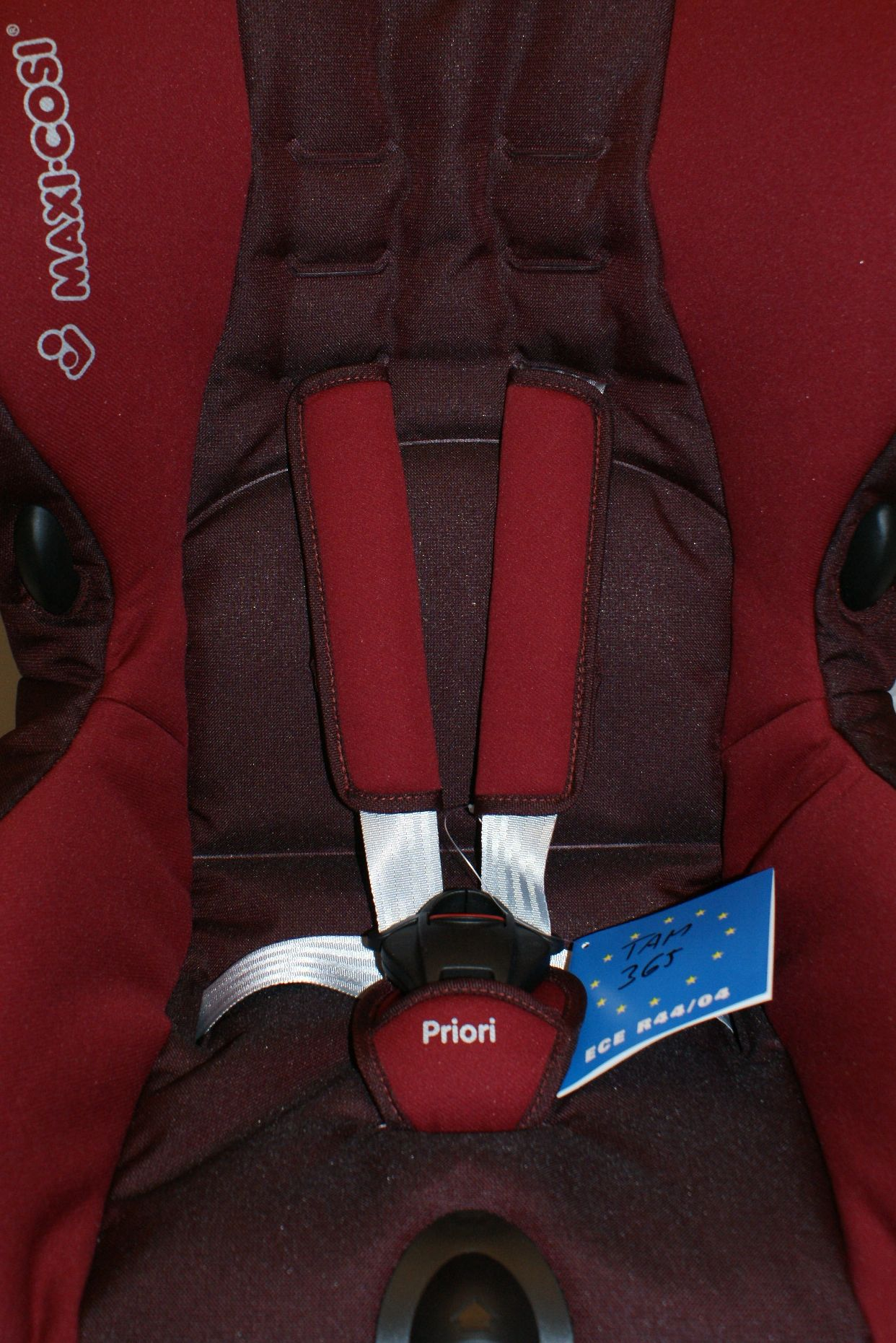 maxi cosi priori sps kindersitz autositz 9 18 kg rot carmine ebay. Black Bedroom Furniture Sets. Home Design Ideas